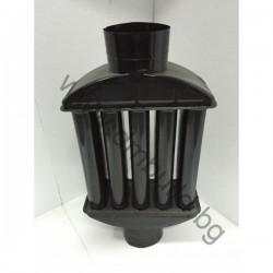 Радиатор черен емайл ф130
